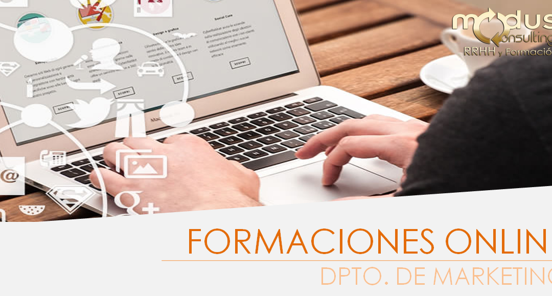 Formaciones Online: Dpto. de Marketing (100% bonificadas)